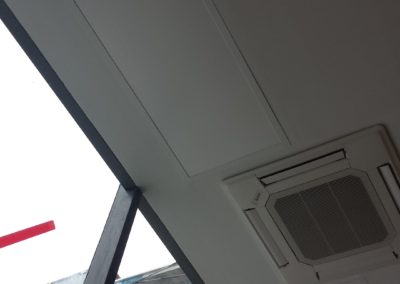 Adding supplemental heating for more vulnerable areas close to high windows