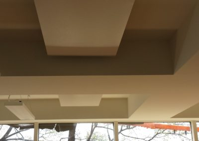 Ceiling Heating for Hot Yoga