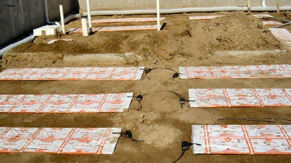 Under Slab Radiant Heating(Earth Thermal Storage)