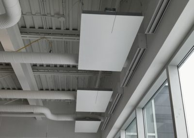 Perimeter Heating Panels