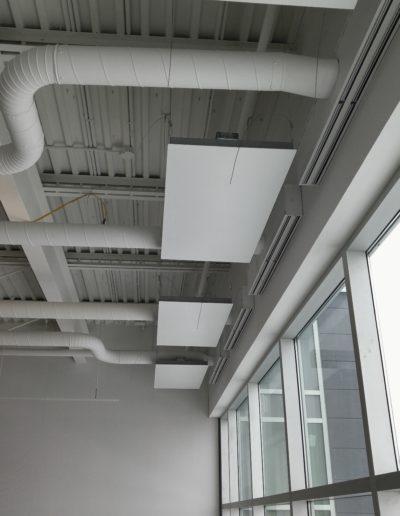 Perimeter Heating Panels