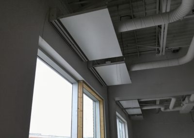 Radiant Ceiling Metal Panels