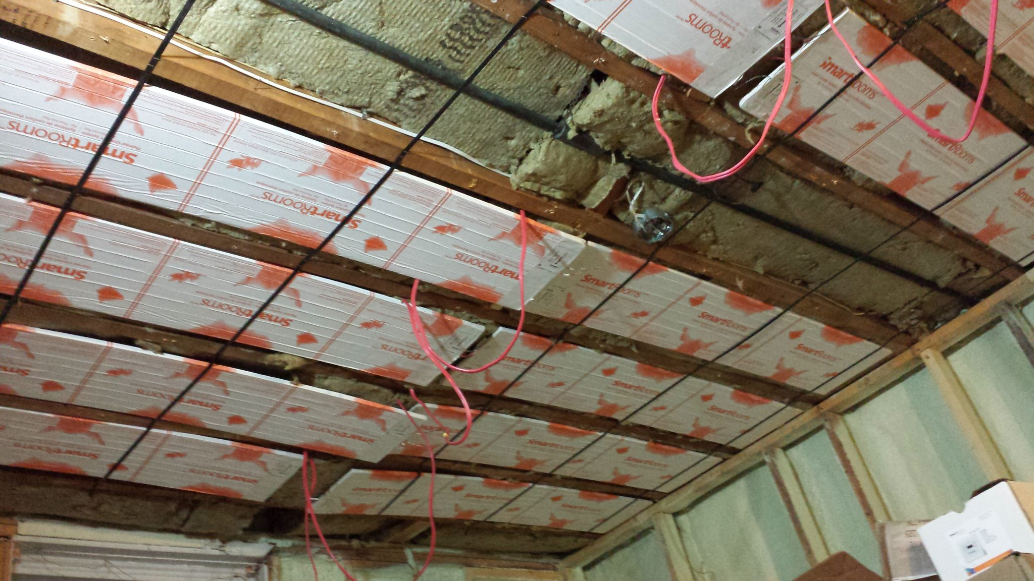 Radiant Heat Ceiling Panels