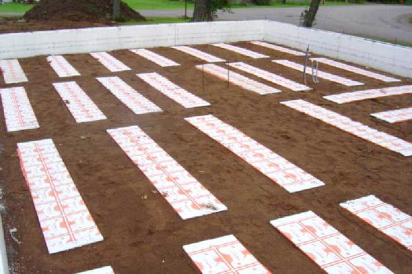 Under Slab Heating Panels