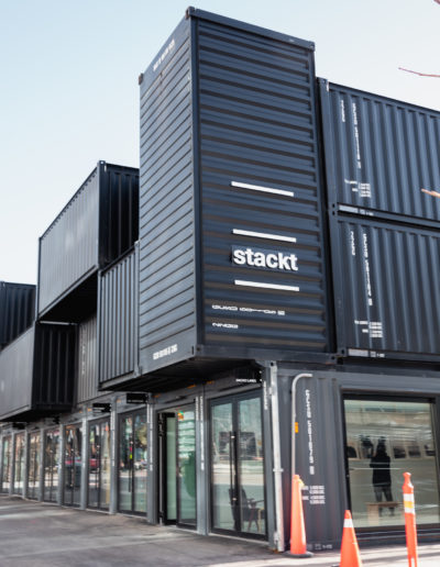 Stackt Market, an innovative and artistic project