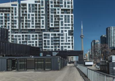 Stackt Market situé au centre-ville de Toronto