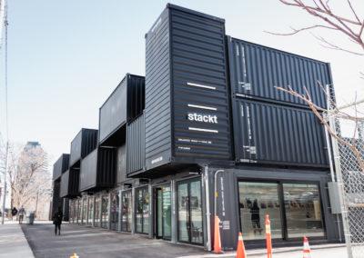 Stackt Market, un projet innovant et artistique